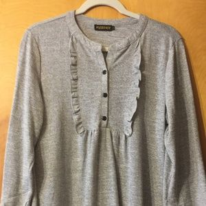 Reborn Grey Knit Dress